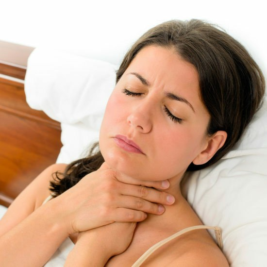How to reduce pain in the throat