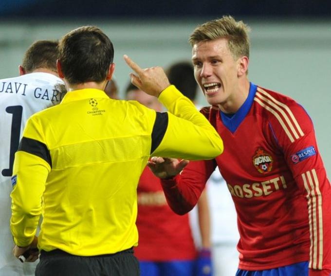 Оскорбить человека словом или жестом можно даже во время игры в футбол