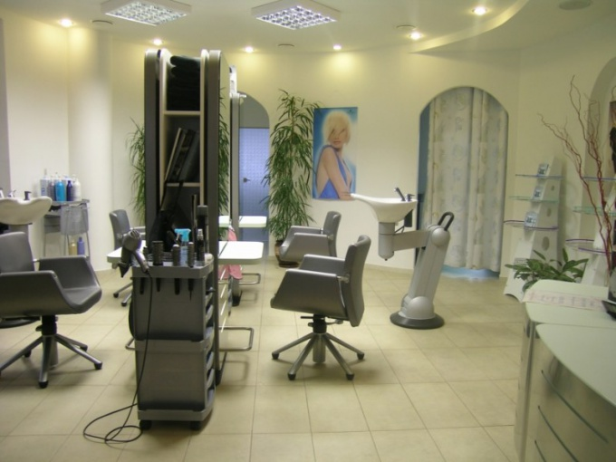 Equipment to open a beauty salon