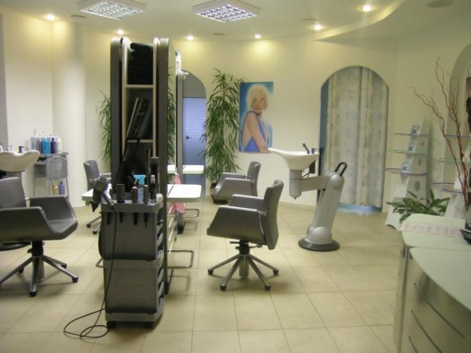 Оборудование для открытия салона красоты