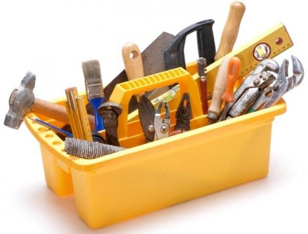 Набор инструментов для работы в доме