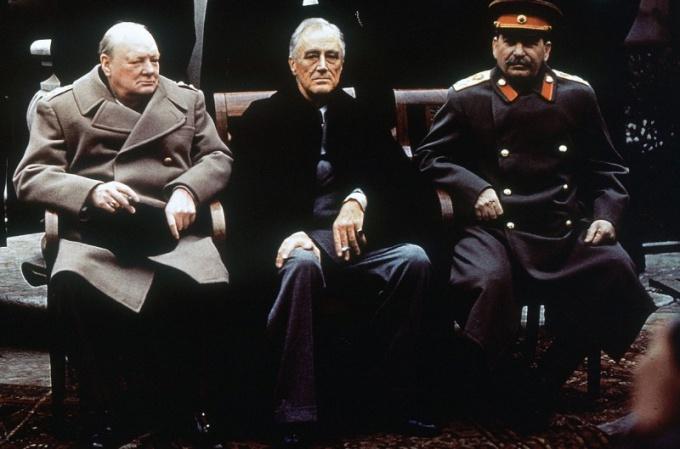 Вторая мировая война изменила расстановку политических сил