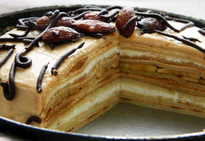 Торт блинный «Красавица»