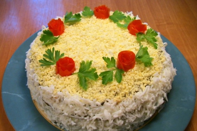 Торт из печени - рецепт приготовления