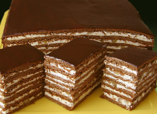 Торт«Махровый»