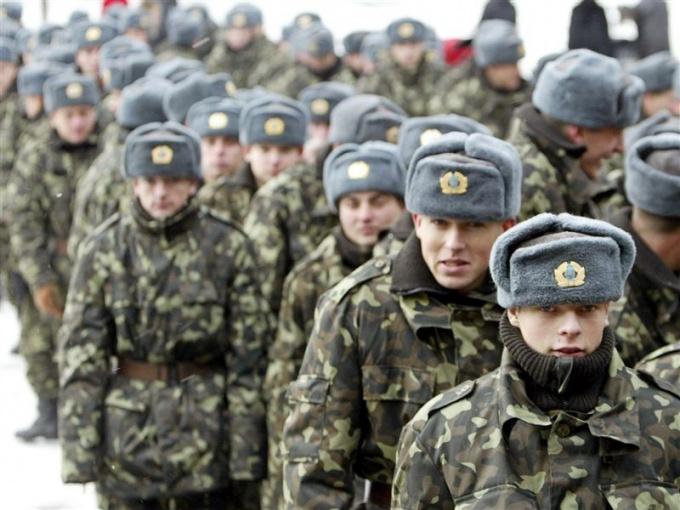 Ряды солдат может пополнить только здоровый призывник