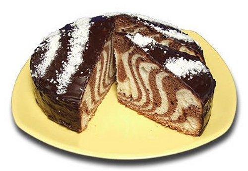 Торт «Веселая зебра»