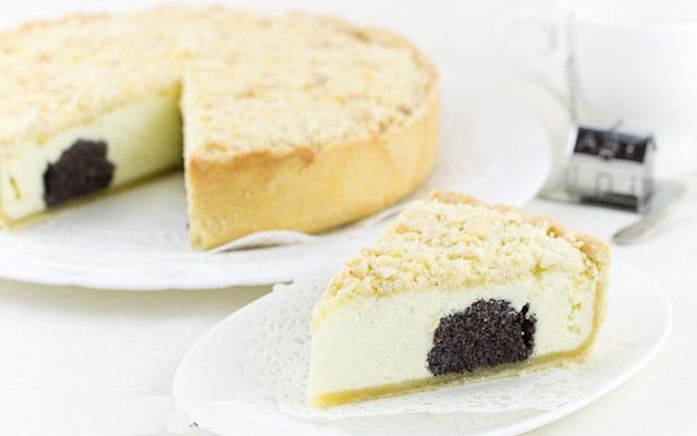 Как приготовить немецкий творожно-маковый пирог?