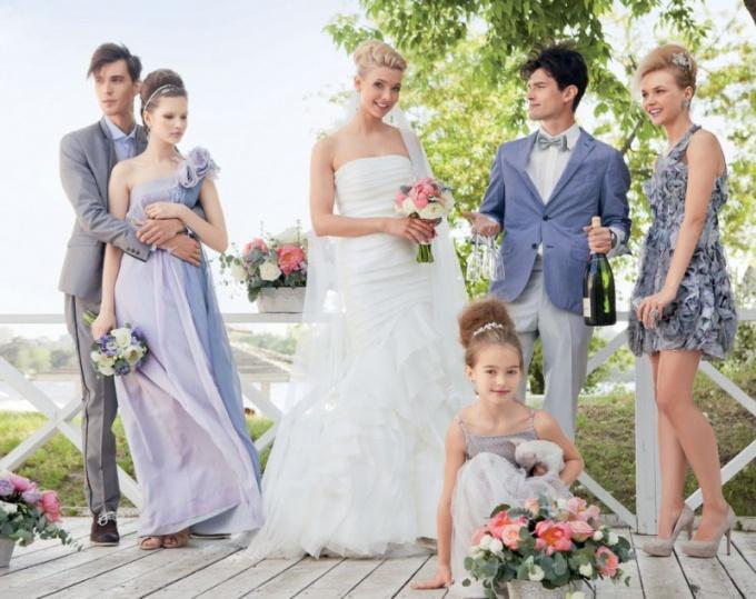 Какое должно быть платье на свадьбу
