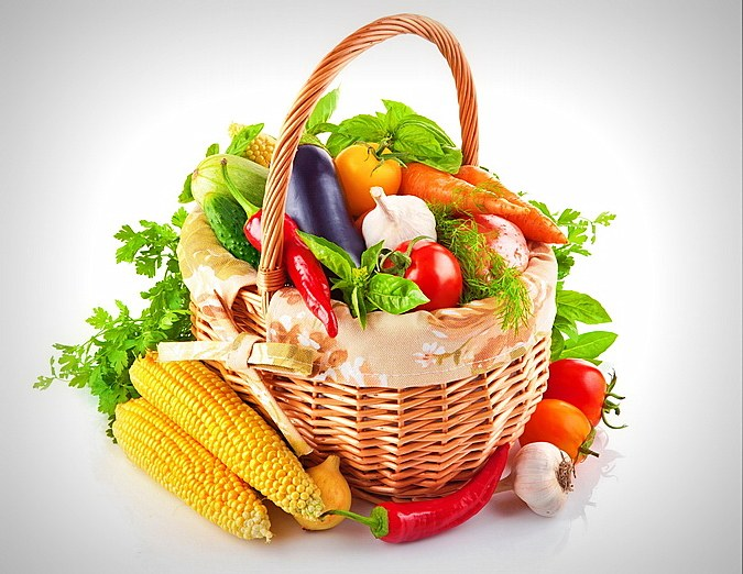 A number of vegetables and fruits helps lower blood pressure