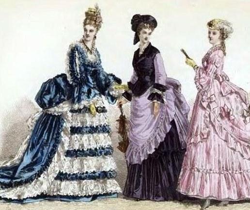 Как одевались в 18 веке