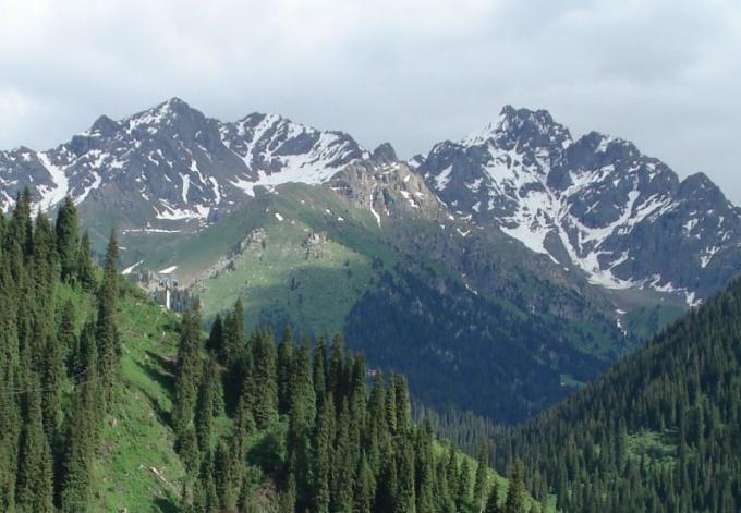 Какие горы есть в Казахстане