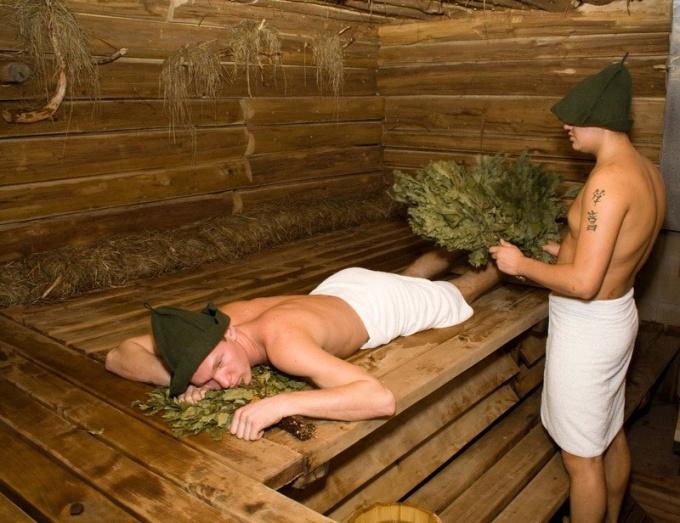 Каким веником париться в бане