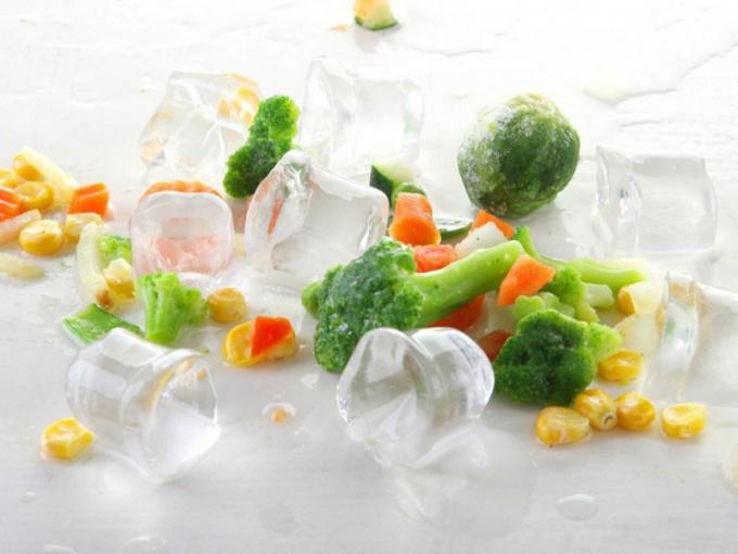 Какие овощи можно заморозить и хранить