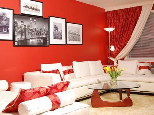 Какого цвета должны быть шторы в красной комнате