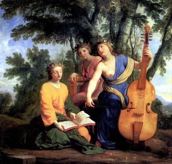 Какие музы чему покровительствовали