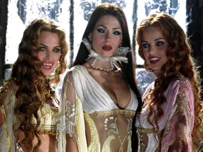 Какие есть фильмы про вампиров