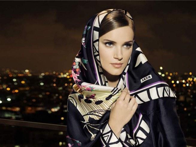 Какие платки и шарфы будут в моде в 2014