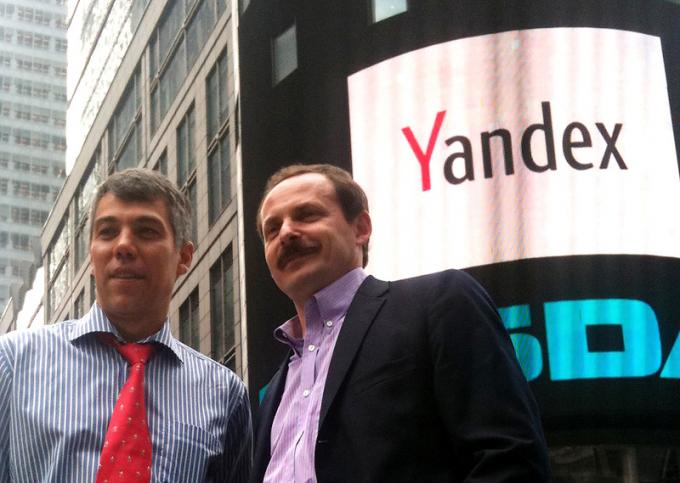 Создатели Яндекса — Илья Сегалович (слева) и Аркадий Волож