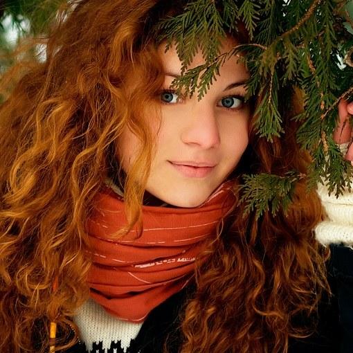 Огненный цвет волос