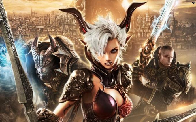 Онлайн игры позволяют игроку окунуться в огромный мир