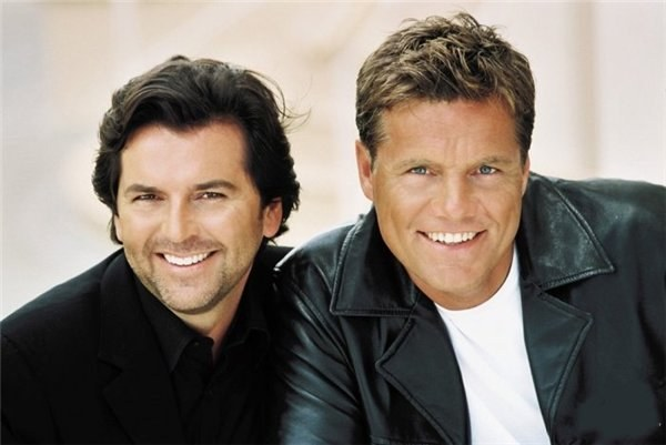 Popular German band Modern Talking