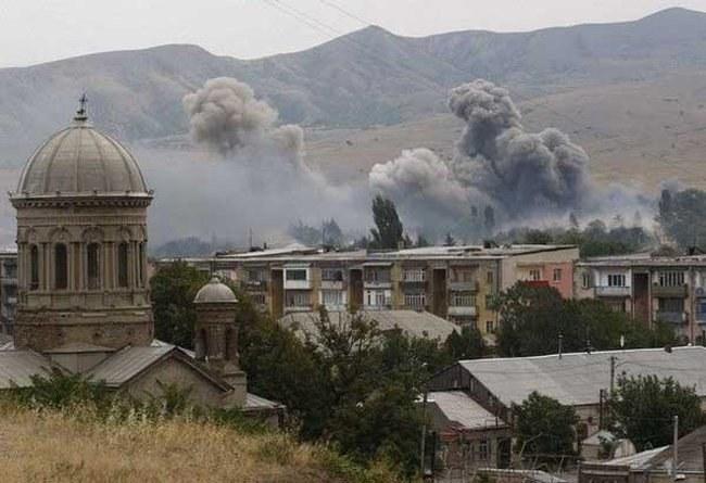 Практически весь город Цхинвал после войны был разрушен