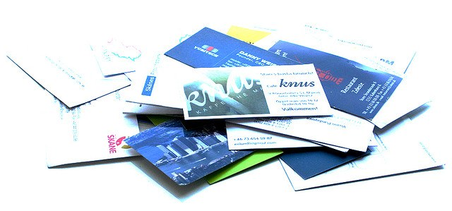 Как оформлять визитки