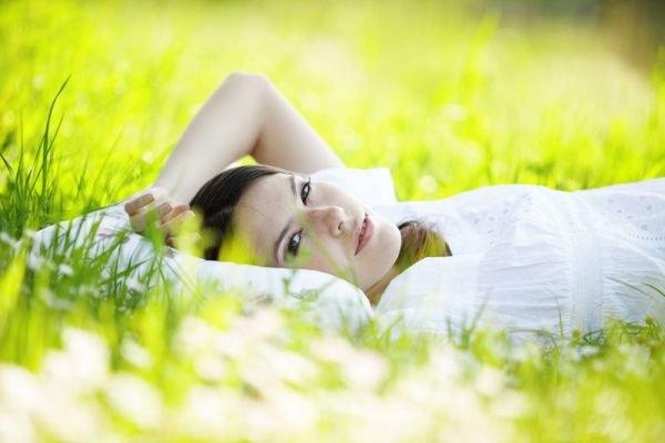 Ароматические подушки с травяными наполнителями.