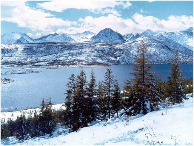 Зимние красоты Магадана