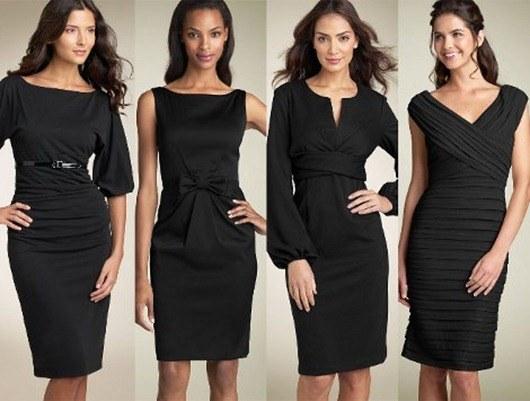 Какое платье можно сшить из плотной ткани