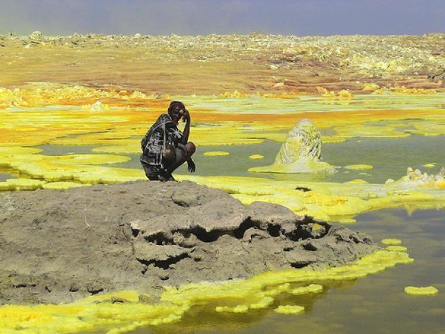Вулканическая пустыня Данакиль