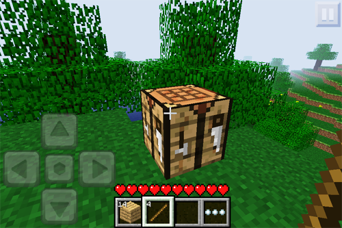 Верстак в Minecraft - один из предметов первой необходимости