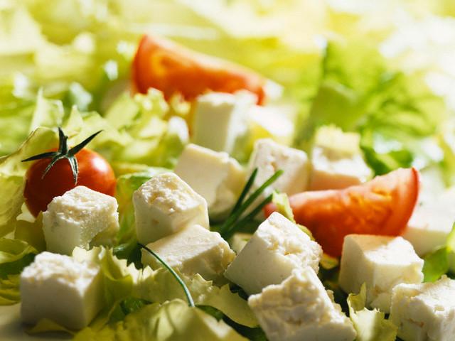 Салат с сыром фета рецепт