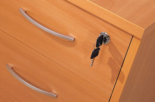 How to put furniture lock
