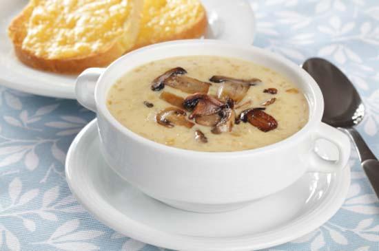 Как приготовить грибной суп с плавленым сыром
