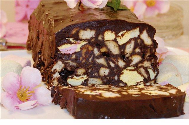 Как приготовить шоколадный террин