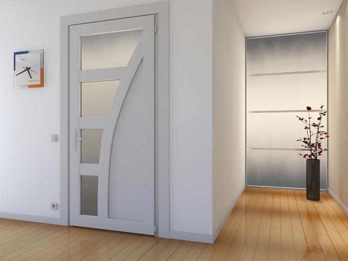 Межкомнатные двери из пластика: практичная изюминка интерьера