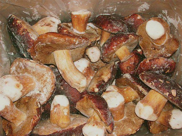 Правильно приготовить замороженные грибы