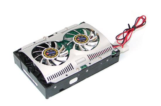 Как установить охлаждение на жесткий диск