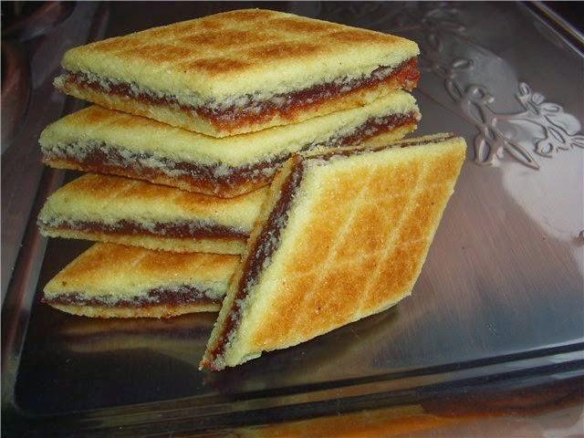 Как приготовить печенье «Брадж»