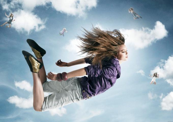 Отчего во сне люди летают