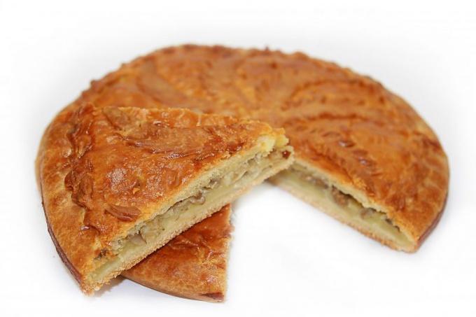 Картофельный пирог на кефире