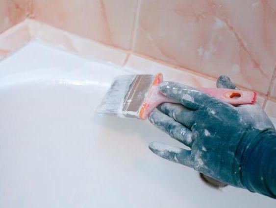 Реставрация эмалевого слоя ванны