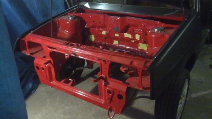 ВАЗ 2108 после замены передних лонжеронов