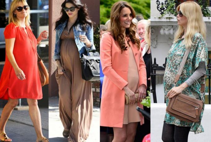 Как одеваться беременной женщине
