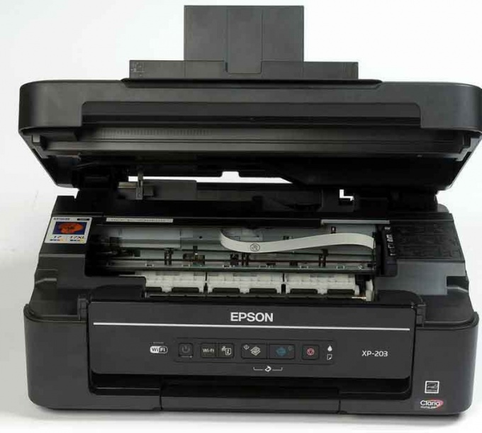 Maintenance of multifunction printer Epson
