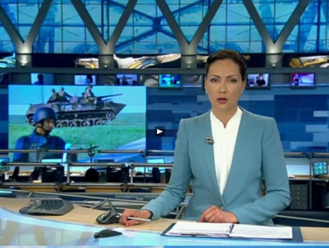 Новостной эфир 1 канала