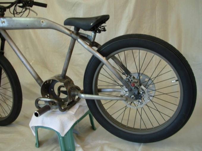 Как поменять заднее колесо велосипеда