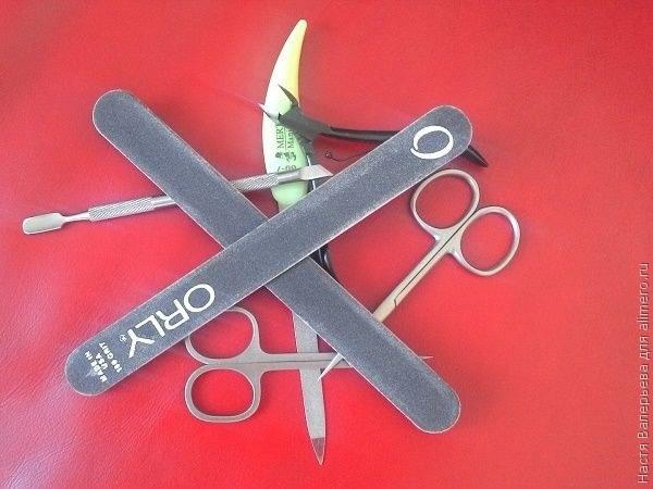 Инструменты для подготовки ногтей